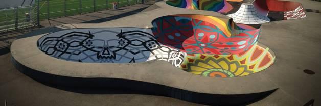 Landscape architecture Zuk Club Skate Park
