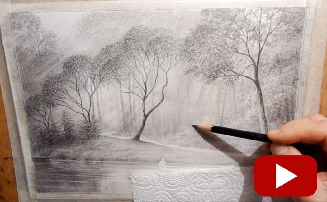 10 Best Tutorials For Drawing Landscapes Land8