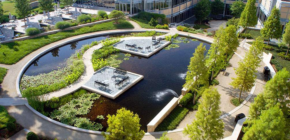 Exceptionnel Award Winning Office Campus Design At The Cox Enterprises Gardens By HGOR    Land8