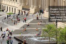 David H. Koch Plaza at the Metropolitan Museum of Art
