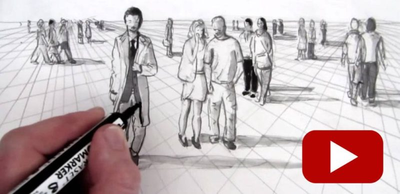 Become a Pro at Drawing People With These 10 YouTube Videos