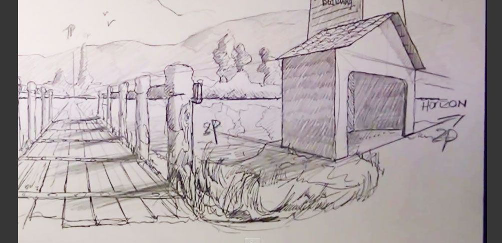 Line Drawing Landscape Artists : How to draw like an artist with these youtube tutorials