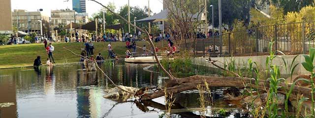 Kiryat Sefer Park, Tel Aviv, Israel by Ram Eisenberg