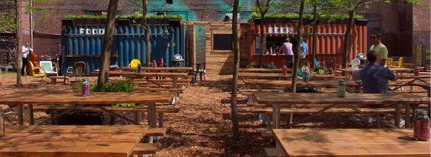 Pop up Beer Garden ; credit: Groundswell