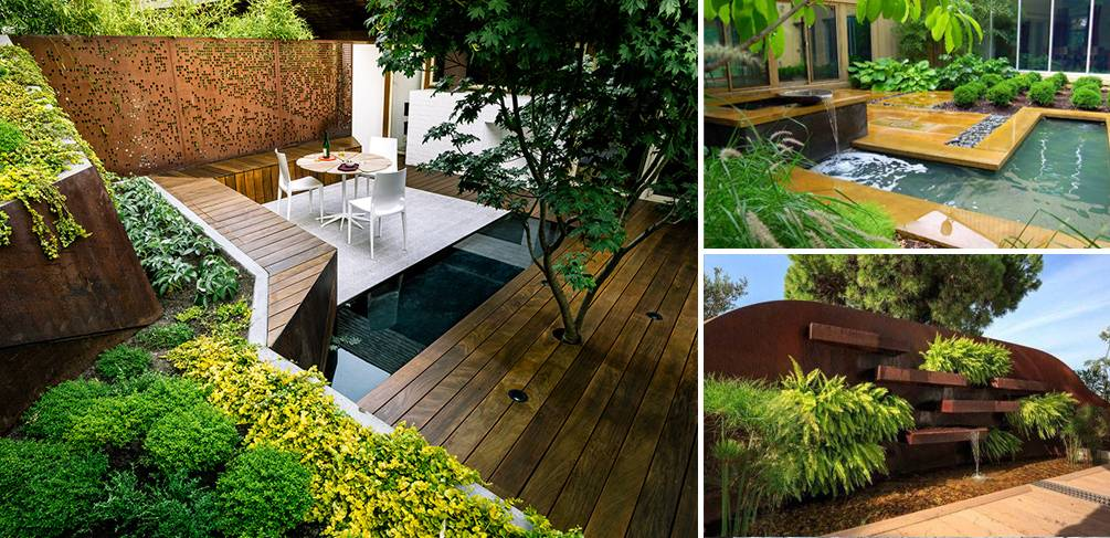 4 awesome projects for small garden design inspiration for Landscape design for small garden