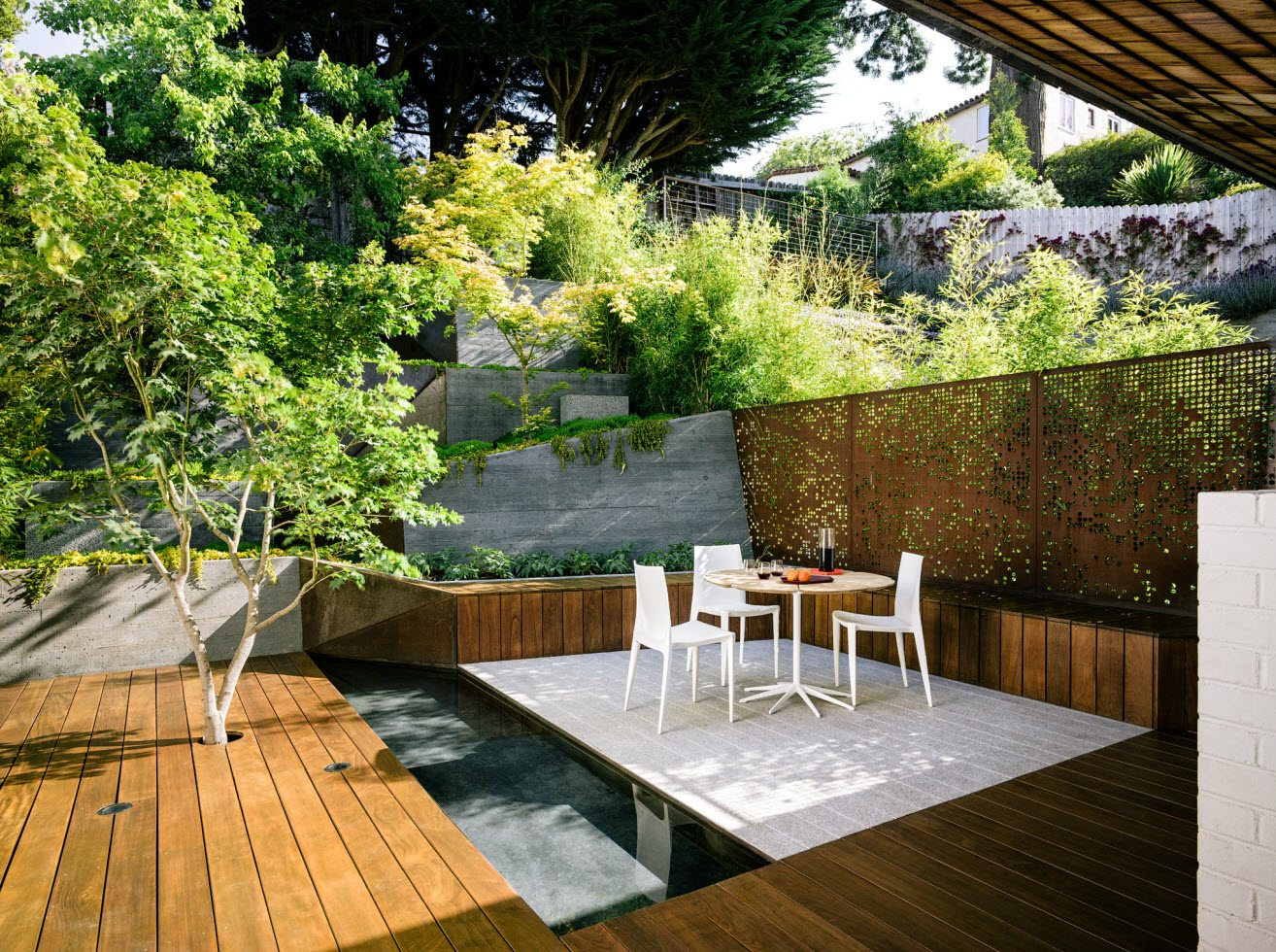 Hilgard Garden by Mary Barensfeld Architecture