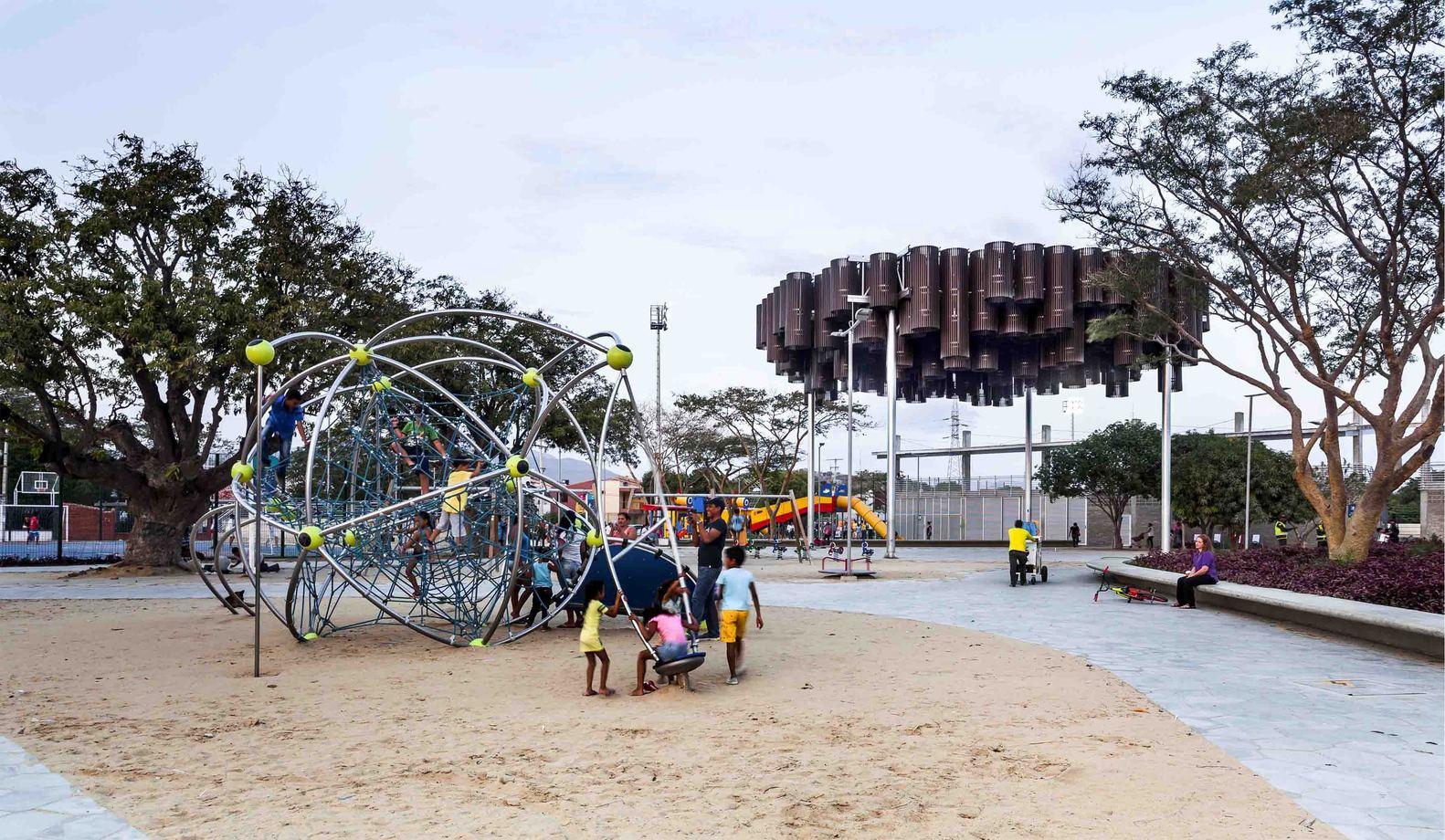 Principal Park Agueda Gallardo Recovery. Credit: Andrés Valbuena