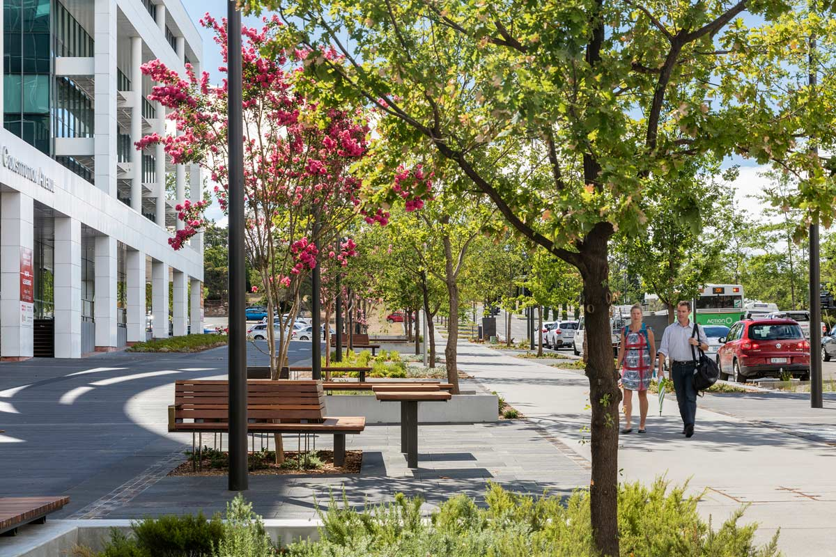 Jane irwin landscape architecture brings new life to for Landscape architect canberra