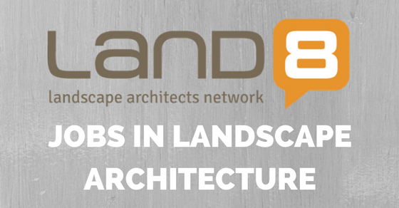 Jobs land8 for Landscape architecture jobs