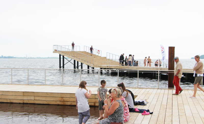 Faaborg Harbor Bath: A Multifunctional Harborfront Park