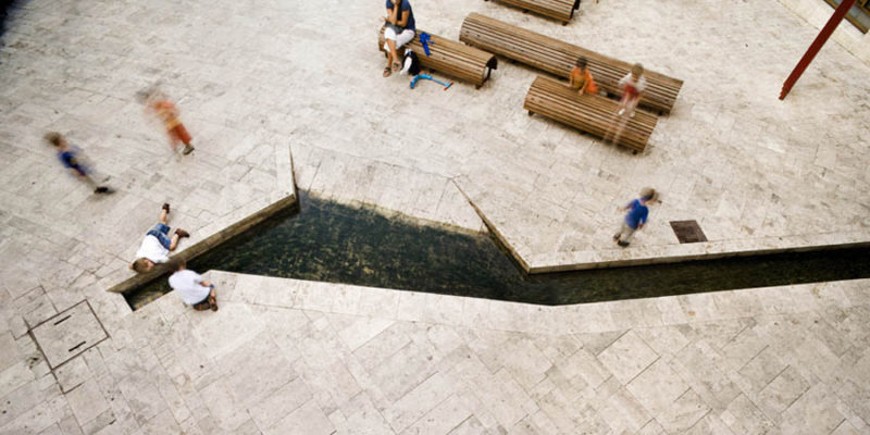 Banyoles Old Town Redesign Highlights the Medieval Footprint of the City