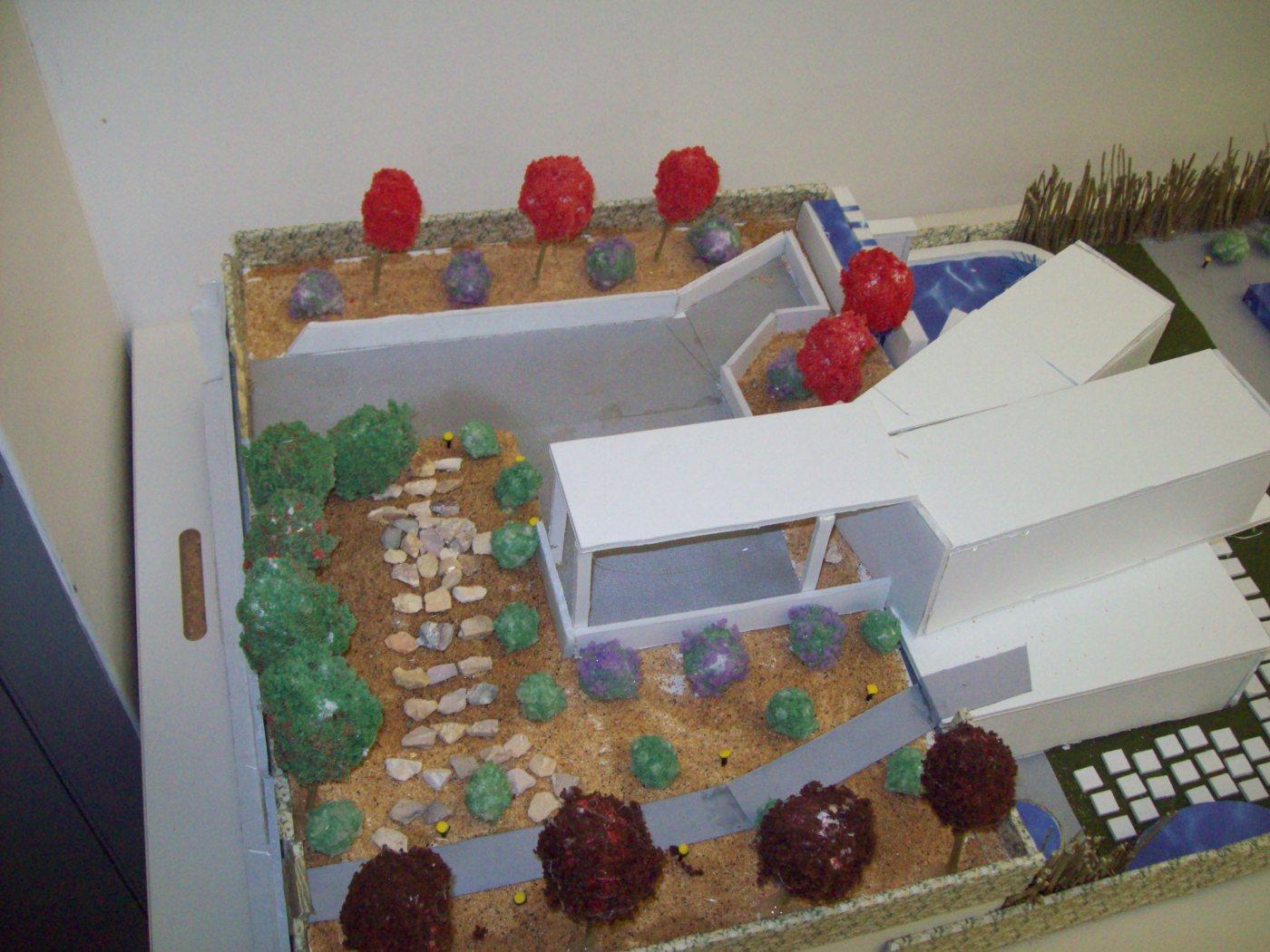 Residential Landscape Model 1/4″ scale