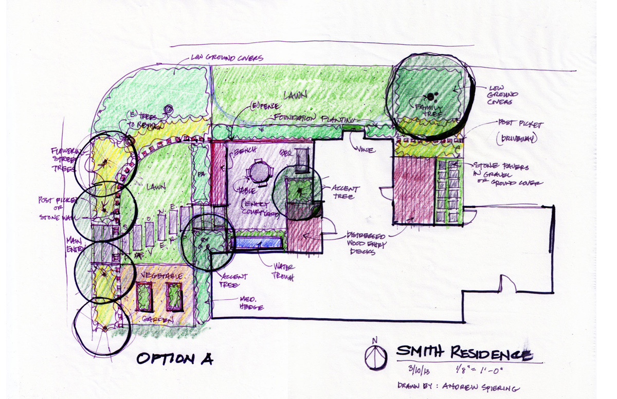 Smith Residence: Schematic Design A