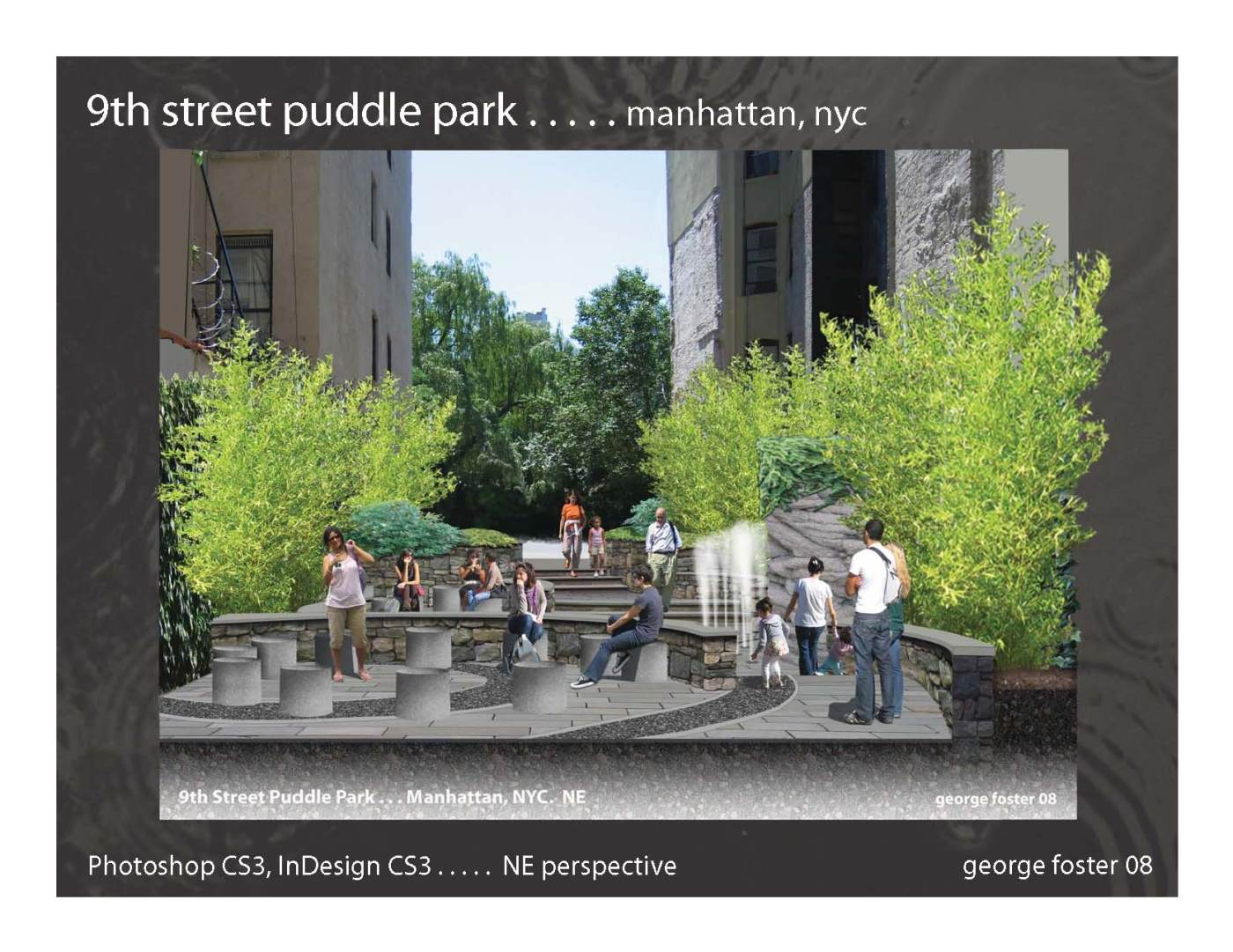 9th Street Puddle Park NYC