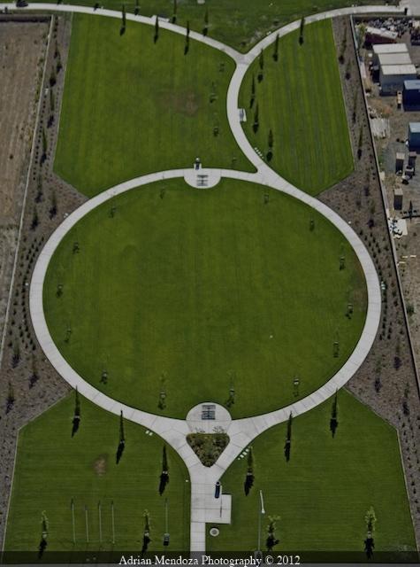 Aerial Photo of Park in Stockton, California