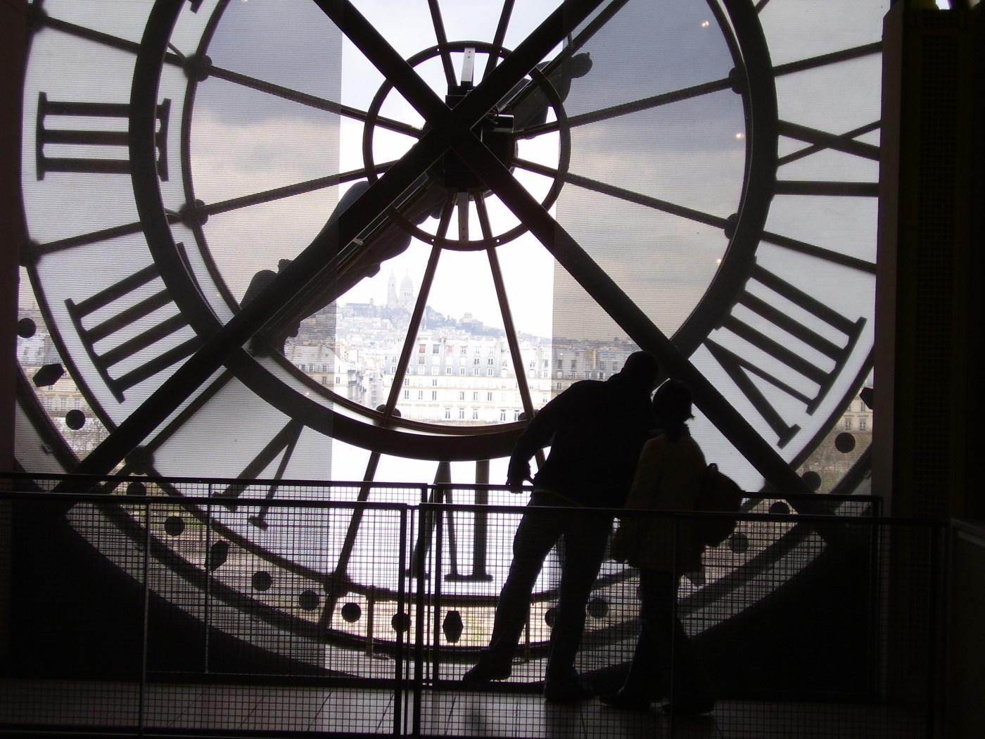 Clock at the Musee D'Orsay