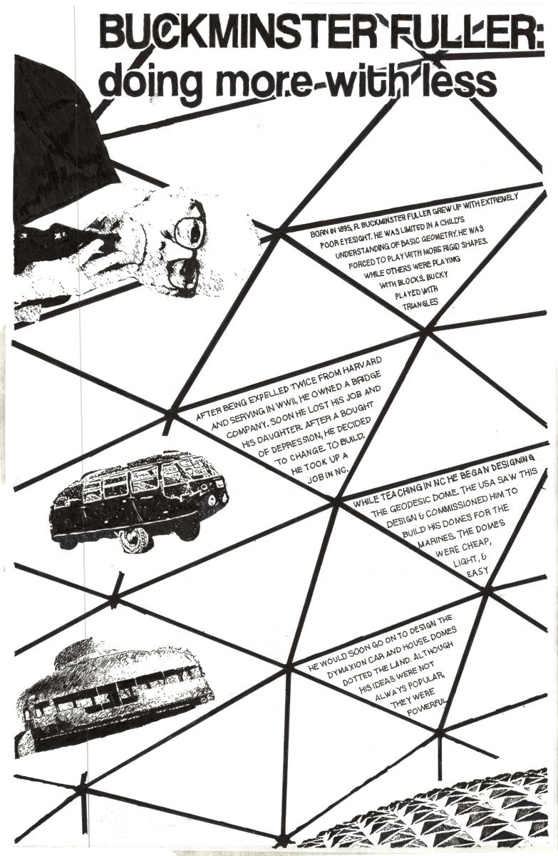 Buckminster Fuller Poster