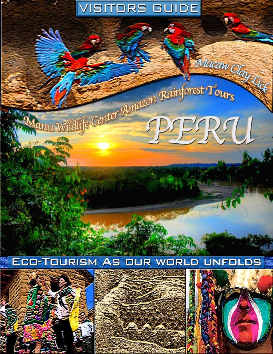 Peru Cover – Graphic Design Brochure