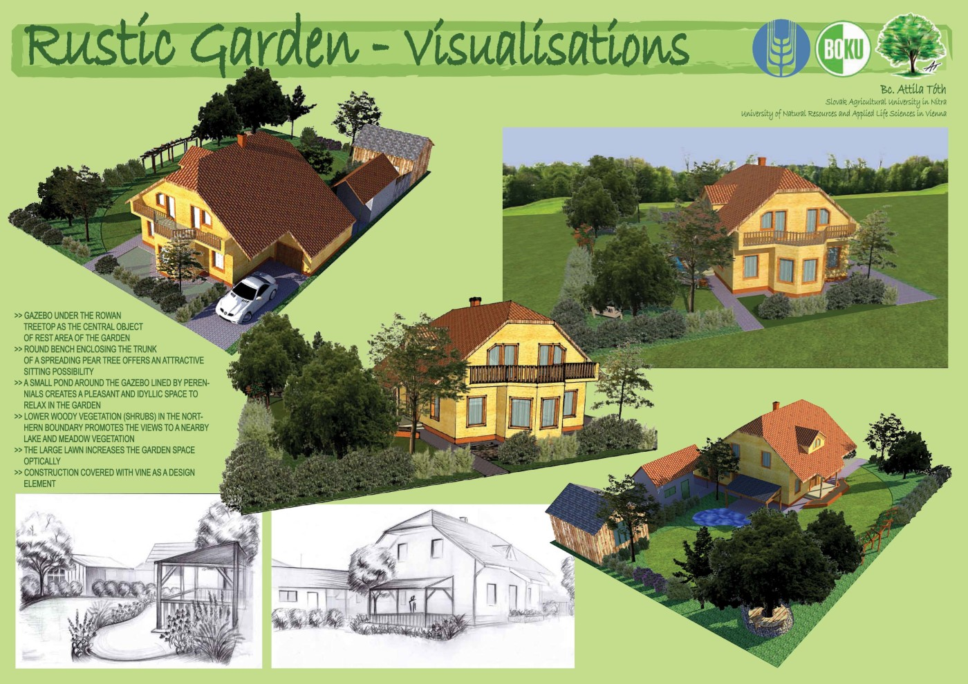 Rustic Garden Design Land8
