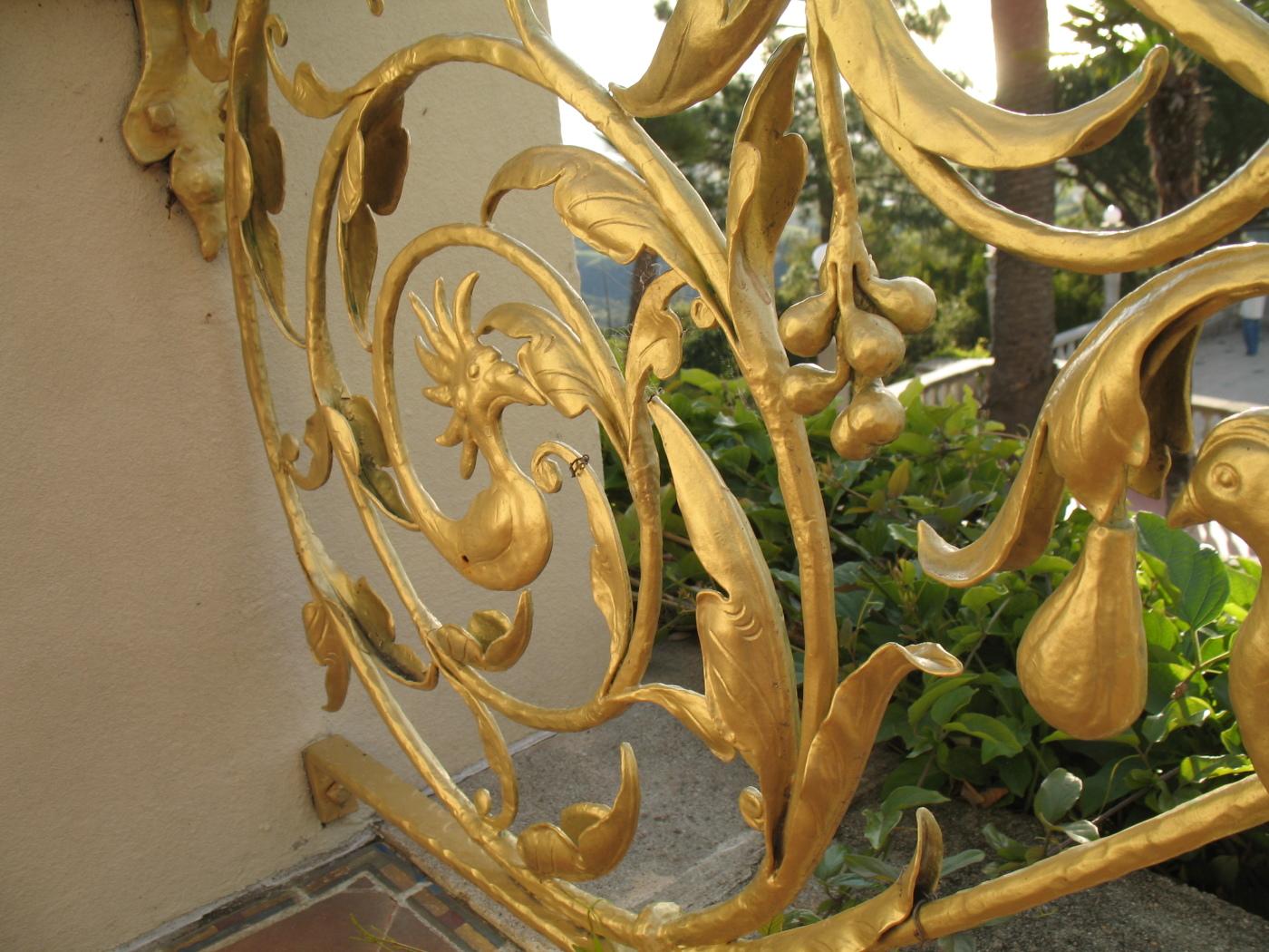 intricate metalwork