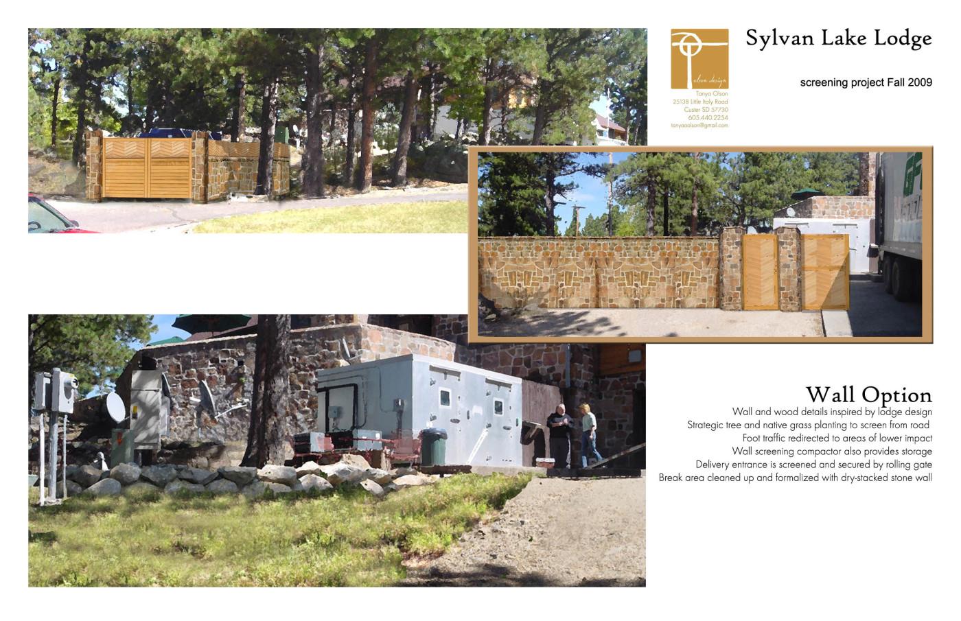 Sylvan Lake Lodge Screening Project – T Olson Design