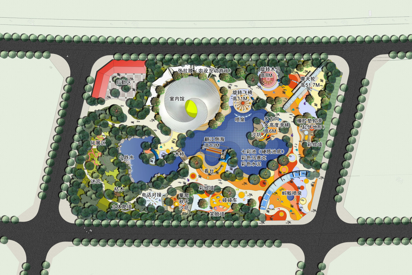 children's park plan