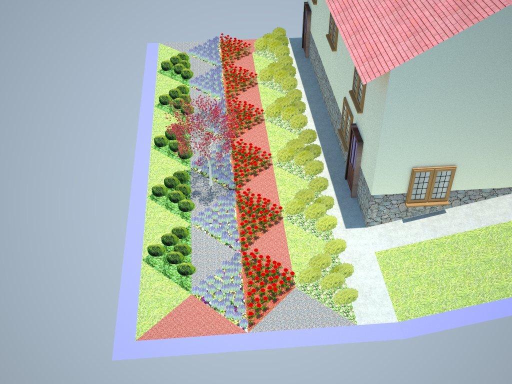 Private garden in Brstica 1