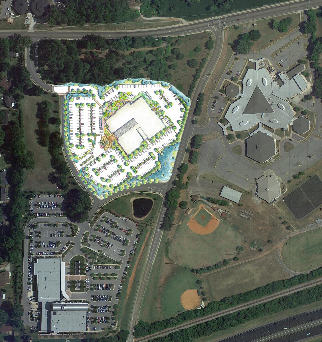 huntsville_va_color site plan aerial overlay