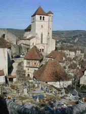 French Village, near Cahors