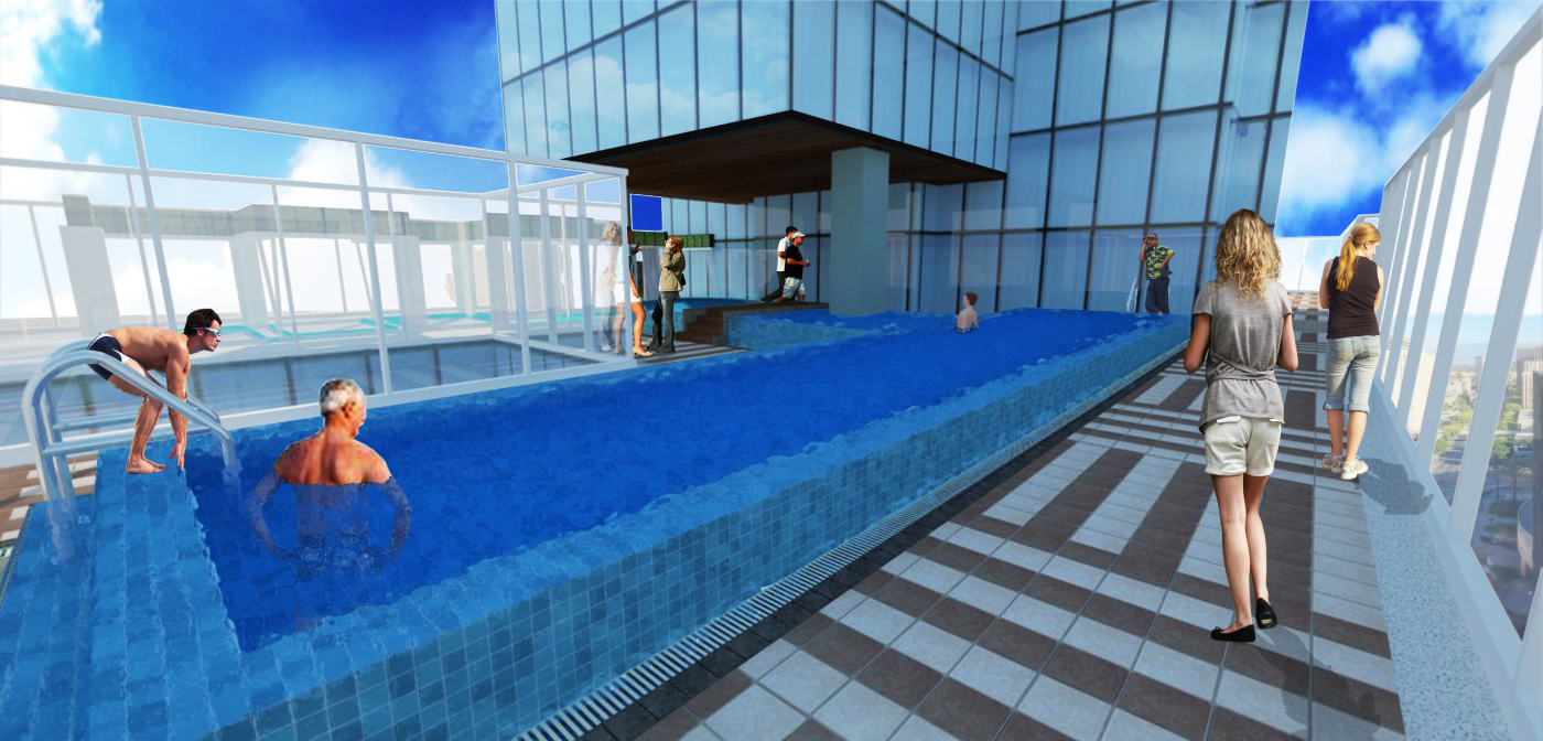 morning pool 1