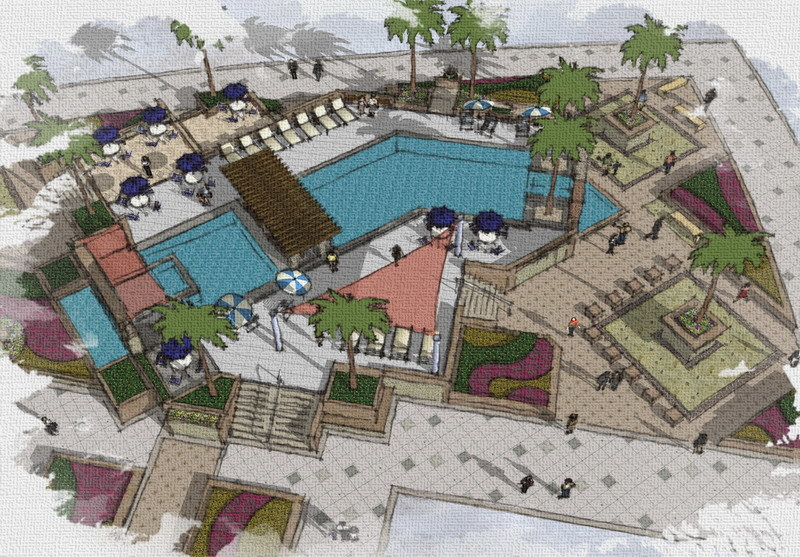 Swimming Pool Design Concept   Land8