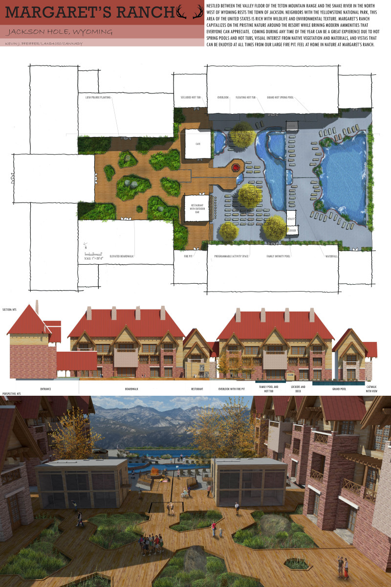 Resort masterplan