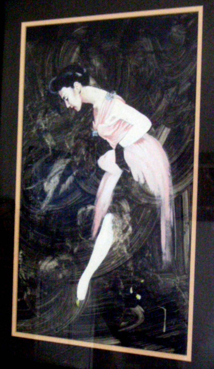 Ballerina – painting by Jim Wainner – Student at The Los Angles Art Center