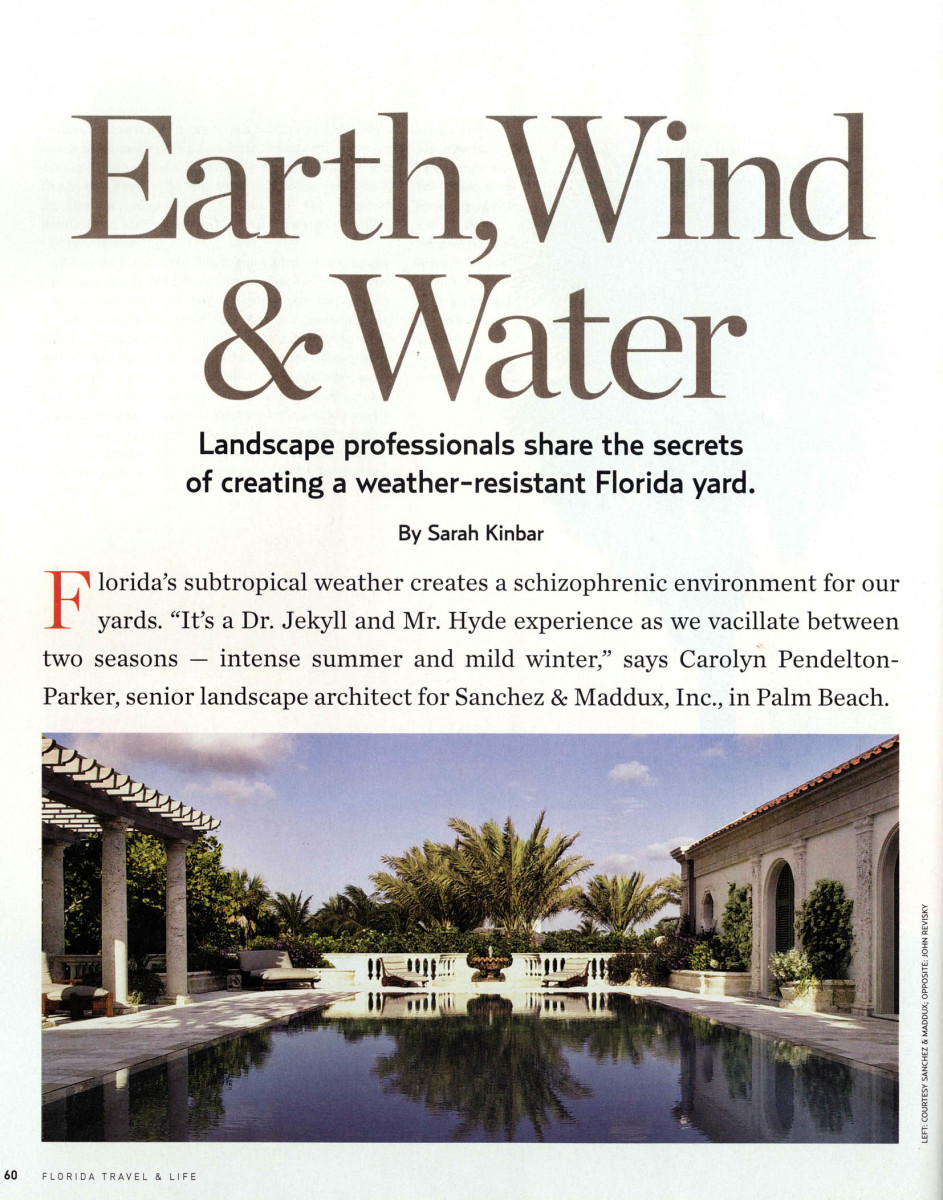 Landscape Design Article
