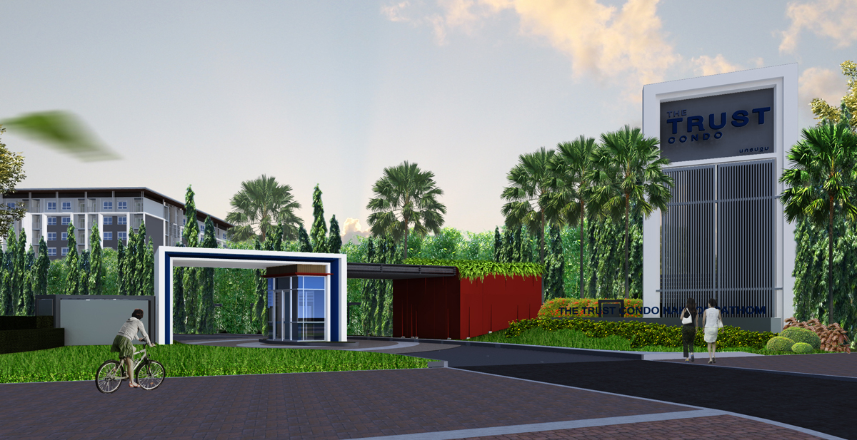 The TRUST _Nakhon Pathom (phase 1) _concept 01 _ gate