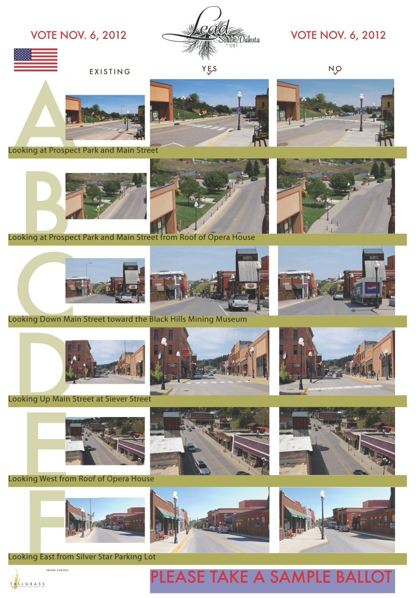 Lead, SD Streetscape Ballot Initiative Presentation
