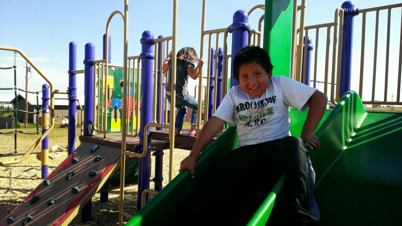 New Playground – Cheyenne River Sioux Reservation