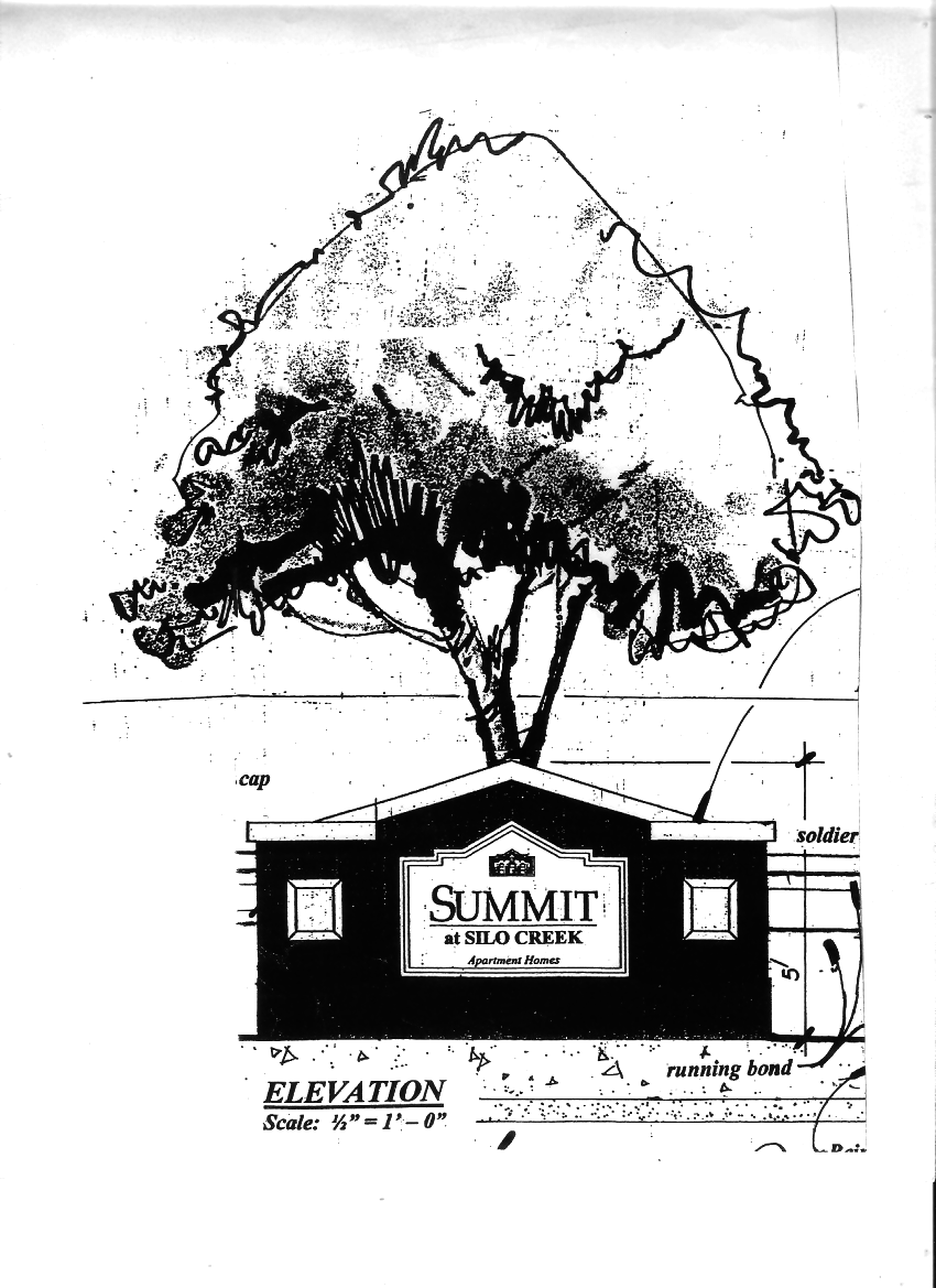 Summit at Silo Creek – hand drawn sketch