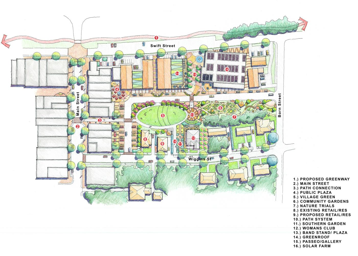 Lithonia Precinct Plan