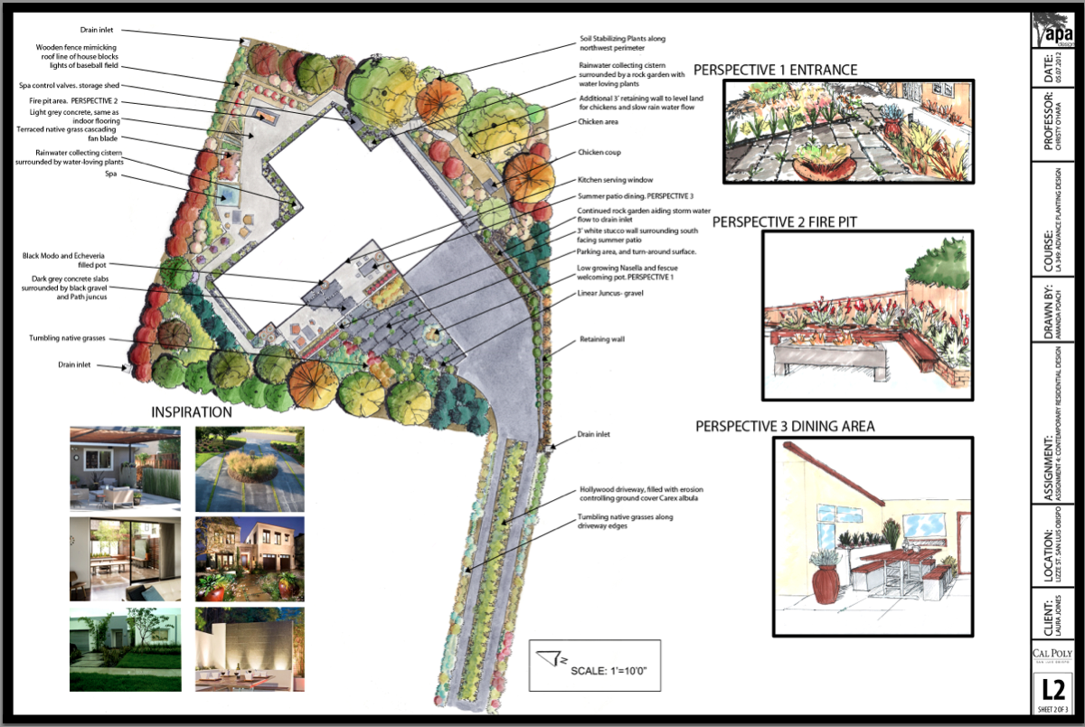 Schematic & Perspectives- Residential Design