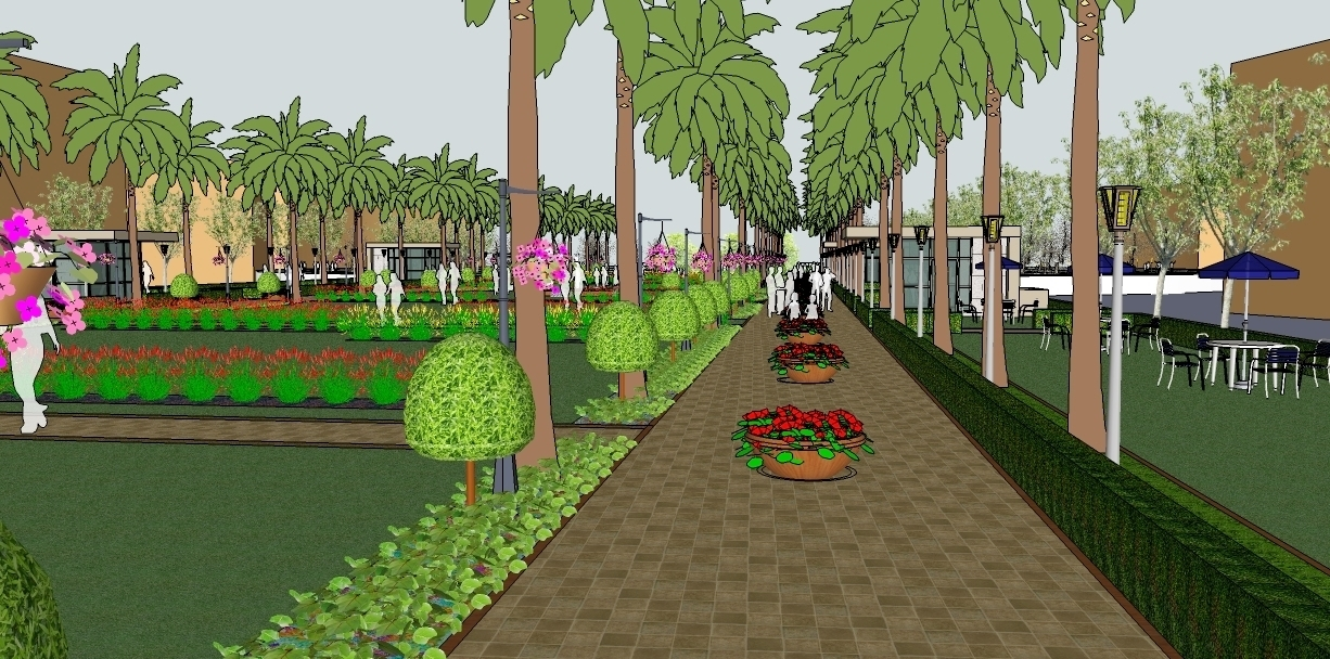 Mall garden 2