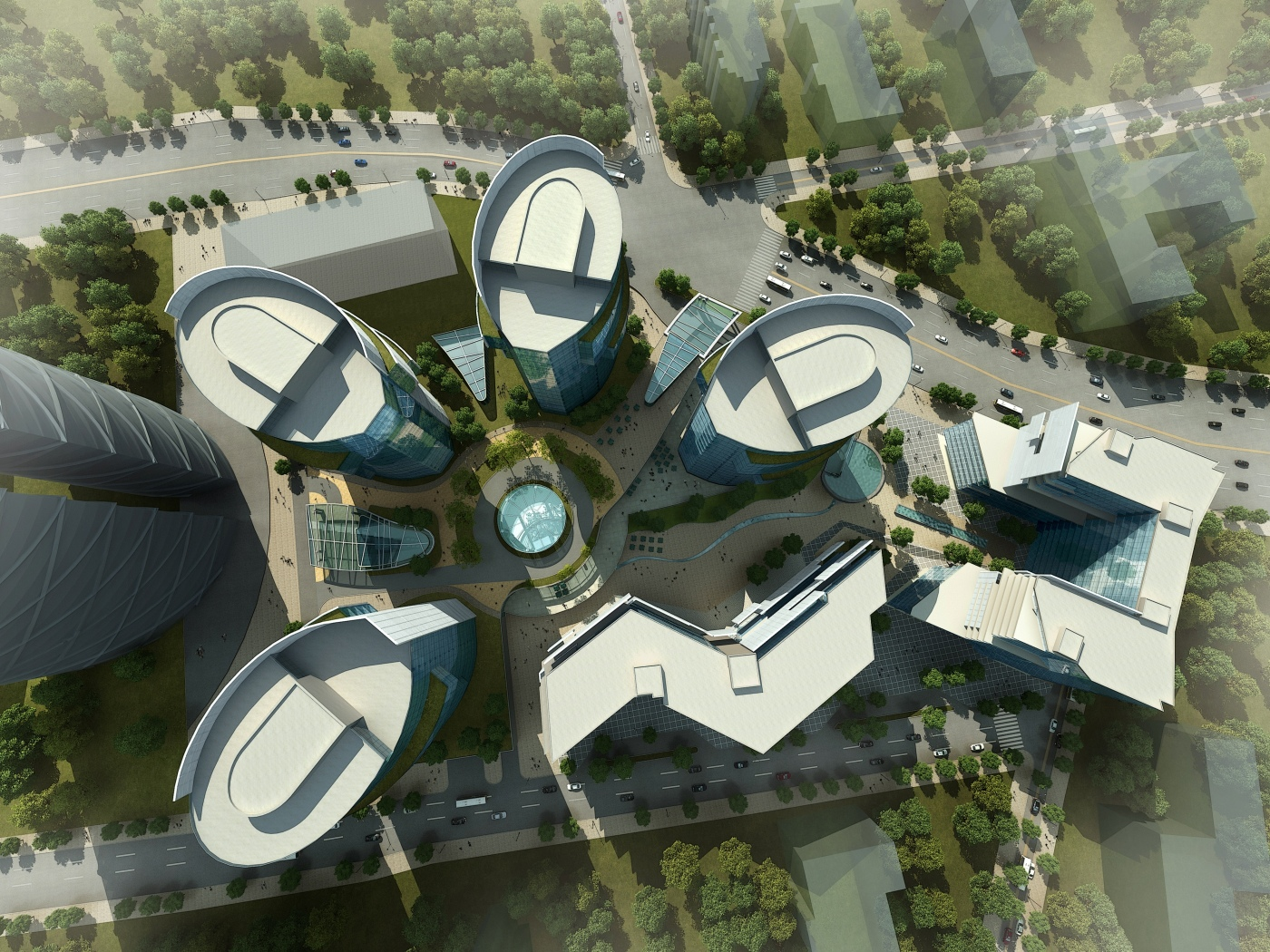 Arklinks Kazakhstan Mixed Use Buildings