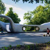 Beatrixpark Turns Art Installation into a Playground