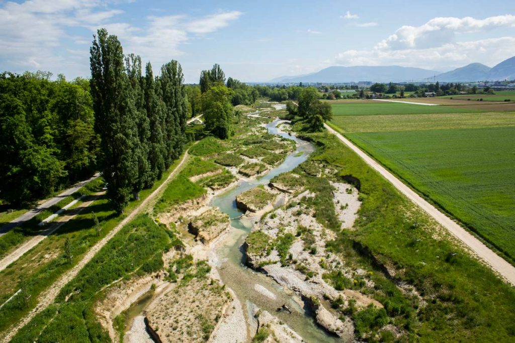 Winner in Project Category: Renaturation of the river Aire, Geneva by Atelier Descombes Rampini, Group Superpositions, Switzerland