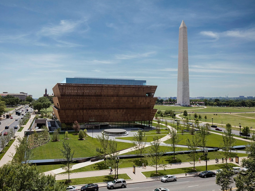 National Museum of African American History and Culture designed by GGN (Photo: Andrew Moore)
