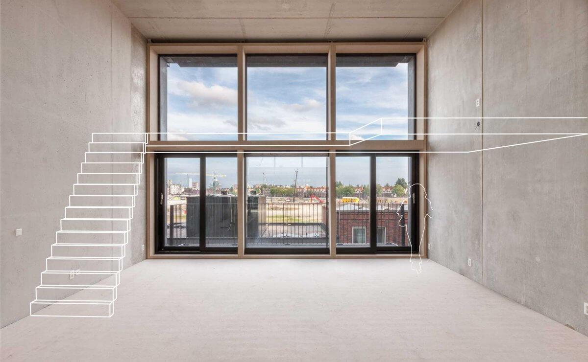 Superlofts Houthavens Interiorby Isabel Nabuurs