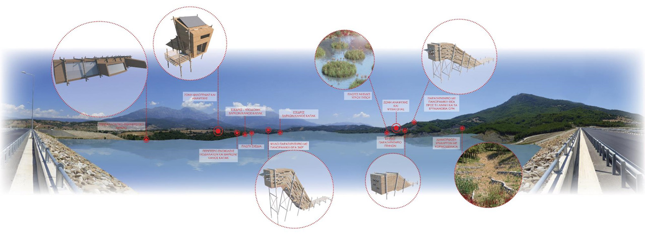 A strategic landscape planning and reclamation proposal for the artificial lake of Piros Dam, in Peloponnese Greece