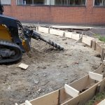Construction 2 - demo & wall footings