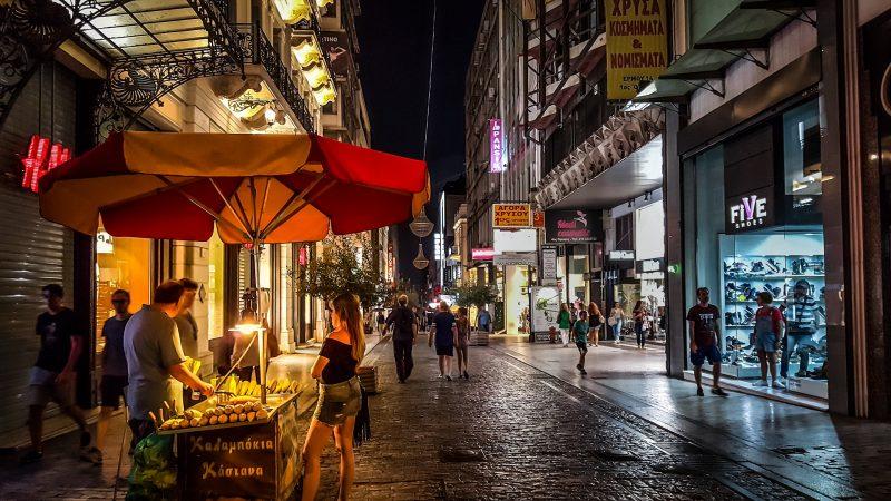 Athens Night Time Economy CC0