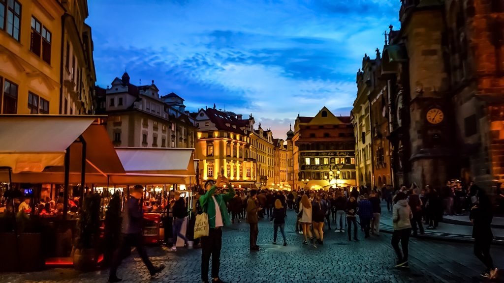 Prague evening economy CC0
